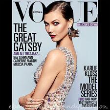 VOGUE Australia May 2013 Karlie Kloss Edie Campbell Great Gatsby Carey Mulligan