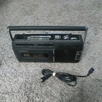 Sony CFM-140II Portable FM/AM Radio Cassette- Recorder Boombox Tested