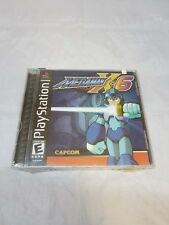 Mega Man X6 Sony PlayStation 1 2001 New *Read Description*