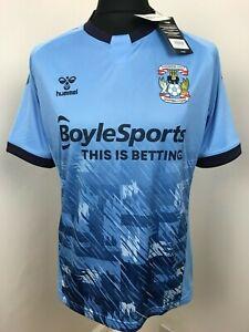 Coventry City FC Football shirt 2020/21 Home Top Soccer JERSEY Hummel BNWT