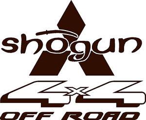 Mitsubishi Shogun Wheelcover Decal / Sticker