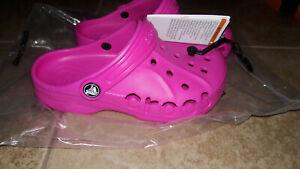 NEW Children  Kids Crocs Baya Clogs Shoes, size j1