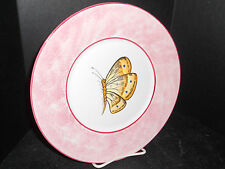 JAY WILFRED BUTTERFLY PLATE***HAND PAINTED***MADE IN ITALY