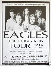 The Eagles 1979 Pittsburgh Concert Tour Poster (Large Version)-Frey,Walsh,Henle y