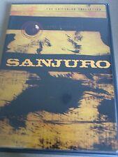 Sanjuro (DVD, 1999, Criterion Collection) Kurosawa OOP! Rare!