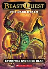 The Dark Realm: Sting The Scorpion Man (Beast Quest)-ExLibrary