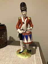 Capodimonte porcelain soldier Drummer