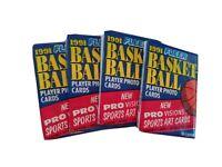 1991 Fleer Basketball Wax Pack 4 Unopened Packs - Possible Jordan?