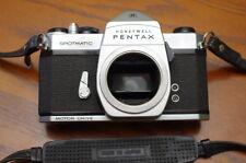 Rare Pentax Spotmatic motor drive film camera body 35mm