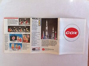 Cox Products 1993 sales brochure~model airplanes~control line~radio control~cars