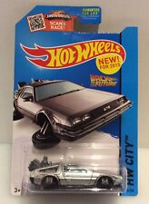 New/Sealed Hot Wheels Back To The Future Time Machine Hover Mode #45/250 Monmc!