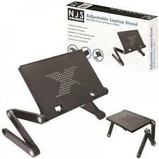 NJS Adjustable Laptop / Tablet Stand With USB Fans Ideal For DJ Office