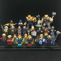 Avengers 4 23 Pcs Superhero Captain Marvel Thanos Ant Man Mini figures fit Lego
