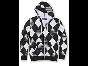 Hoodie Buddie Zip Sweatshirt Jacket Earbuds MP3 Headphones FastShip M Medium New