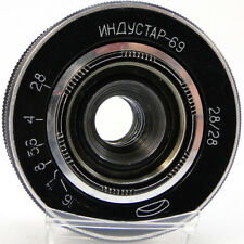 SERVICED! INDUSTAR-69 28mm f/2.8 Russian Wide Angle Pancake Lens M39 MMZ-LOMO #3