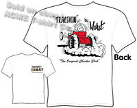 Traction By Hurst T-shirt Cheater Slick Hot Rod Tee Automotive Racing Apparel
