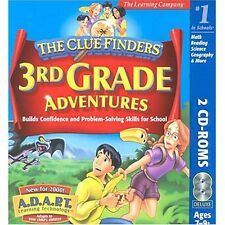 THE CLUEFINDERS 3RD GRADE ADVENTURES MYSTERY OF MATH (1999) PC/MAC CD-ROM NEW
