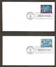 US SC # 3414-3417 Stampin' the Future FDC . Ready For Cachet