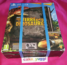WONDERBOOK SUR LA TERRE DES DINOSAURES SONY PS3 PLAYSTATION MOVE & CAMERA INCLUS