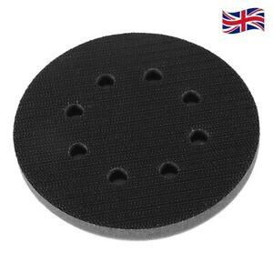 "5"" 125mm Diameter Soft Sponge Cushion Interface Pad Sanding Pads Black UK STOCK"