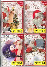 Cartolina Auguri Buon Natale Musicale Micart 8012138139547
