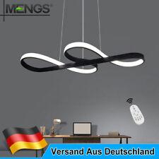 45W LED Deckenleuchte Dimmbar Deckenlampe Fernbedienung Wohnzimmer Kronleuchter