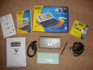 PSION 5MX PDA  boxed with all accessories  in MINT CONDITION