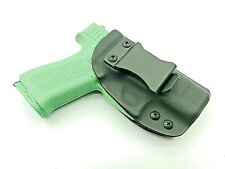 Kydex Holster fits Glock 43 and 43x Conceal Carry IWB Black Right Hand Draw