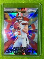 BAKER MAYFIELD PRIZM ROOKIE CARD JERSEY #6 CLEVELAND BROWNS 2018 Panini Prizm SP