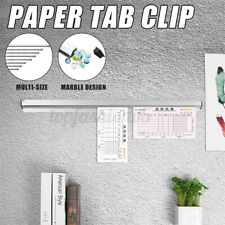 Tab Clip Paper File Receipt Ticket Check Bill Order Rail Holder Rack Kitchen Bar
