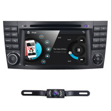 "7"" Car Radio DVD GPS Navigator Stereo Headunit for MERCEDES Benz E-W211 CLS W219"
