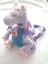Barbie Rapuzal Penelope Dragon Plush Backpack Bag with Strapes