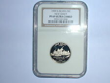 1999-S 25C Silver New Jersey State Quarter NGC PF 69 UC