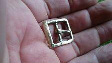 Precioso Bronce Siglo 1500 Hebilla de cinturón que se encuentran en Yorkshire Reino Unido por privado Colec
