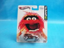 Hot Wheels Disney The Muppets MIDNIGHT OTTO Animal Real Riders
