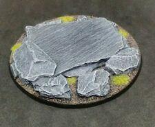 100mm resin base Rock Slate Stone Warhammer 40k Age of Sigmar
