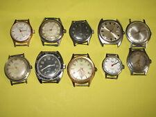 lot de montres mécaniques pour pièces ou autre à réparer