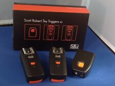 SRs Scott Robert Tiny Triggers V3 1T + 2R for Canon FREE SHIPPING