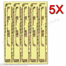 5X 3M Screen Digitizer Double Side Tape Adhesive Sticker for iPad Air 5  b377