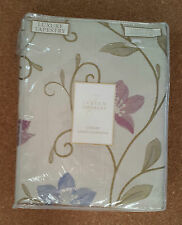 "NEW Julian Charles Luxury Tapestry Lined Curtains Canterbury Lavender 66"" x 72"""