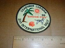 Coachman Caravans 1988 21st Van Vanning Rally Florida unused new jacket patch
