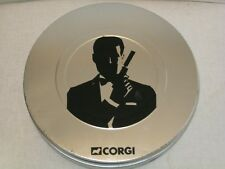 JAMES BOND 007 40th ANNIVERSARY CORGI COLLECTION FILM CANISTER 4 CAR SET & TIN