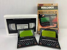 Vintage Rolodex Electronic Pocket Electrodex 64K Desktop Organiser Business