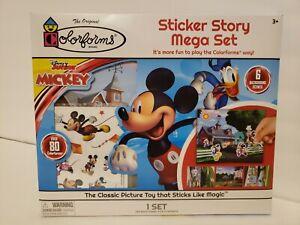 A29 Colorforms 80+ Disney Junior Mickey Mouse Sticker Story Mega Set