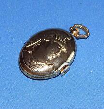 Orologio da tasca taschino Quarzo - Metallo dorato - Nuovo - Funzionante