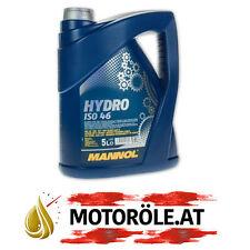 5 (1x5) Liter MANNOL Hydro ISO HLP 46 Hydrauliköl VDMA 24318, DIN 51524/2 5l