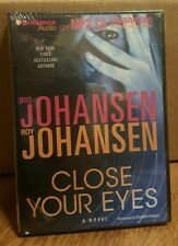 Close Your Eyes Iris & Roy Johansen Unabridged MP3 CD Audio Book