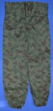 Bulgarian Army TANK Crew Splinter CAMOUFLAGE Pants TANKER TROUSERS Large sz.