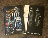 Newcastle v Everton PREMIER LEAGUE Matchday Programme 1/11/2020! IMMEDIATE POST!