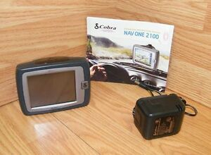 "Cobra NAV ONE GPSM 2100 Portable Mobile Navigation System w/ 3.5"" Screen *READ*"